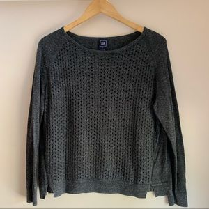 Grey GAP knitted sweater